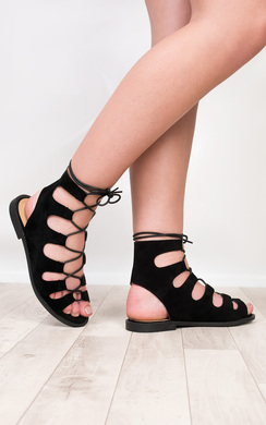 View the Cristal Gladiator Sandals online at iKrush