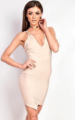 View the Malik Ribbed Mini Dress online at iKrush