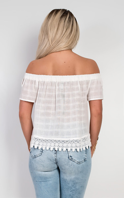 View the Myrna Off Shoulder Top online at iKrush