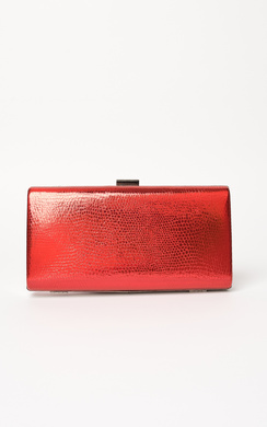 View the Anneke Croc Metallic Clutch Bag online at iKrush
