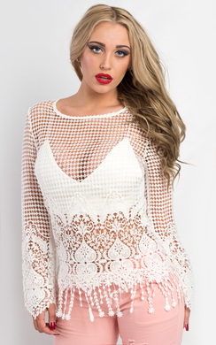 View the Sarina Boho Jumper online at iKrush