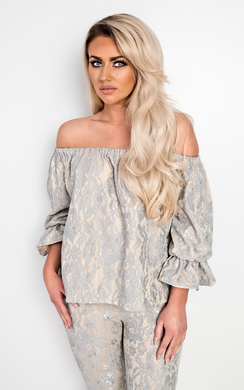 View the Dulce Floral Lace Co-Ord online at iKrush