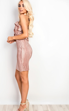 View the Sherri Ribbed Bodycon Dress online at iKrush