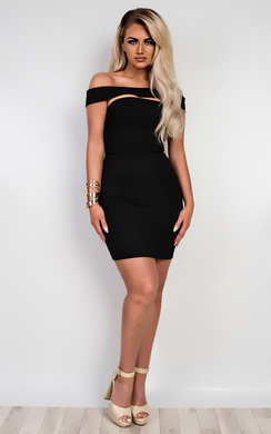 View the Tamiko Off Shoulder Bodycon Dress online at iKrush