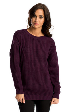 View the Reese Oversized Knit Jumper online at iKrush