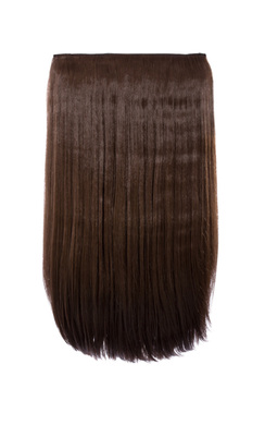 View the Intense Volume Clip In Hair Extensions - Flicky Choc Brown  online at iKrush