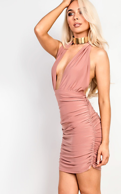 View the Marlyn Slinky Bodycon Dress online at iKrush