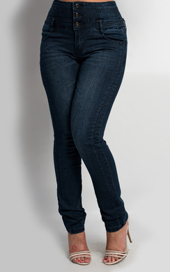 View the Ayanna High Waisted Jeans online at iKrush