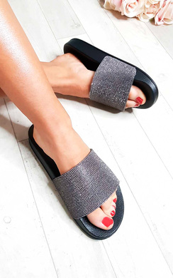 View the Amrata Diamante Sliders online at iKrush
