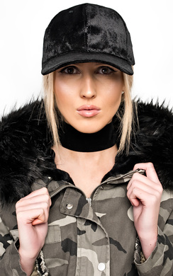 View the Mariella Velour Cap online at iKrush