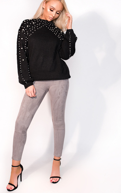 View the Anna Beaded Knitted Jumper online at iKrush