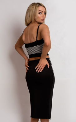 View the Carsyn Striped Co-Ord online at iKrush