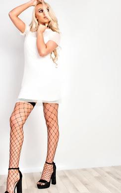 View the Zena Mesh Bodycon Dress online at iKrush