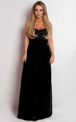 View the Essa Strapless Evening Dress online at iKrush