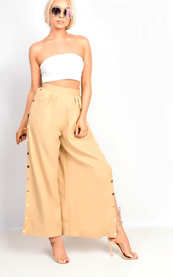 View the Aslia Side Popper Trousers online at iKrush
