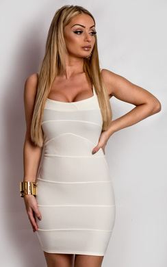 View the Quinn Bodycon Bandage Dress online at iKrush
