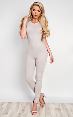 View the Arianna Zip Up Jumpsuit online at iKrush