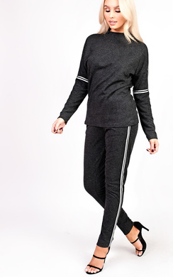 View the Luna Stripe Tracksuit online at iKrush