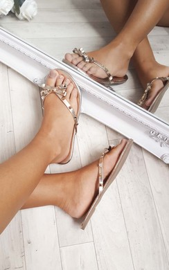 View the Robyn Studded Sandals online at iKrush