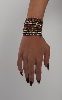 View the Alabama Diamante Wrap Bracelet online at iKrush