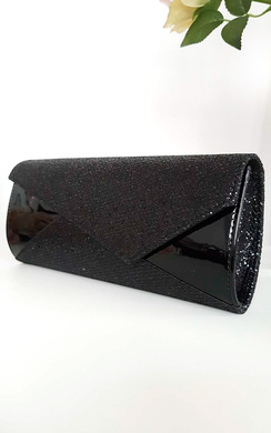 View the Verity Sequin Contrast Clutch Bag online at iKrush