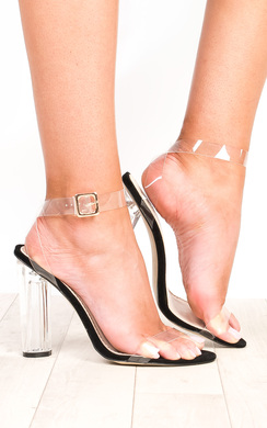 View the Alyssa Clear High Heels online at iKrush