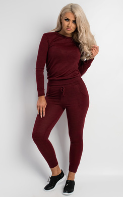 View the Lea Plain Jogger Set online at iKrush