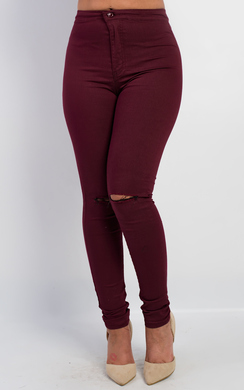 View the Imperia Ripped Skinny Jeans online at iKrush
