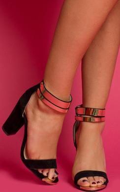 View the Alvilda Strappy Block Heels  online at iKrush