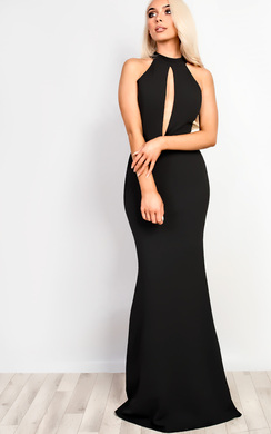 View the Jenni Cut Out Maxi Dress online at iKrush