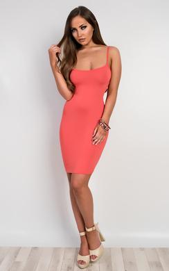 View the Emily Basic Mini Dress online at iKrush