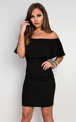 View the Tanaya Off Shoulder Bodycon Dress online at iKrush