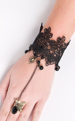 View the Cierra Lace Finger Chain online at iKrush