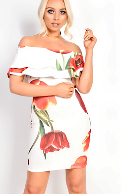 View the Natasha Bardot Floral Dress online at iKrush