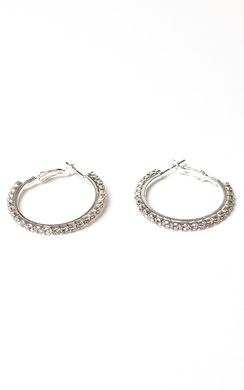 View the Alvaro Diamante Hoop Earrings online at iKrush