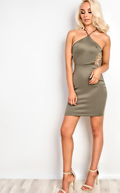 View the Carli Strappy Bodycon Dress online at iKrush