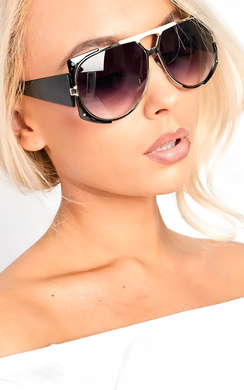 View the Lulu Aviator Sunglasses online at iKrush