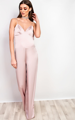 View the Mendes Satin Jumpsuit online at iKrush
