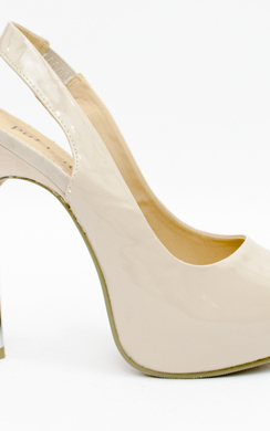 View the Mahina Open Toe Sling Back Heel online at iKrush