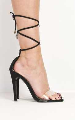 View the Arianna Clear High Heels online at iKrush