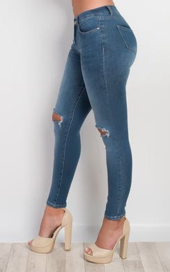 View the Nabile Ripped Skinny Jeans online at iKrush