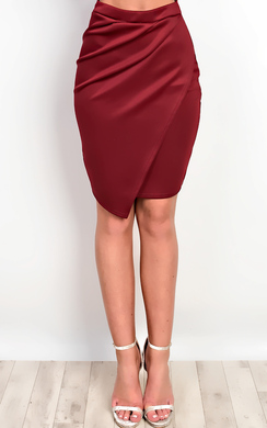 View the Annamaria Asymmetric Skirt  online at iKrush