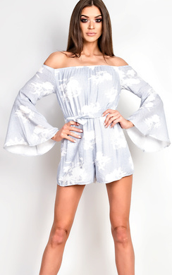 View the Evie Off Shoulder Playsuit online at iKrush