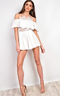 View the Fifi Crochet Playsuit online at iKrush