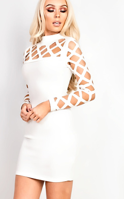 View the Esme Cut Out Bodycon Dress online at iKrush