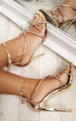 View the Annabelle Chrome High Heels  online at iKrush