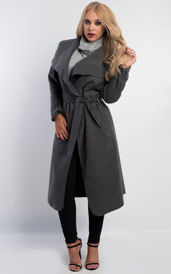 View the Goya Long Belted Coat online at iKrush
