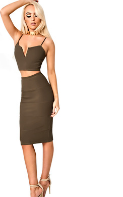 View the Larissa Fitted Co-ord online at iKrush