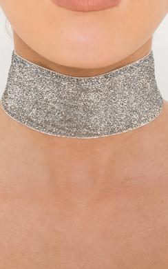 View the Tayla Glitter Choker  online at iKrush