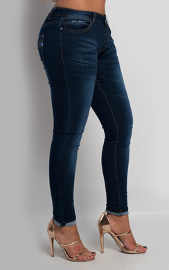 View the Abigail Sequin Skinny Jeans online at iKrush